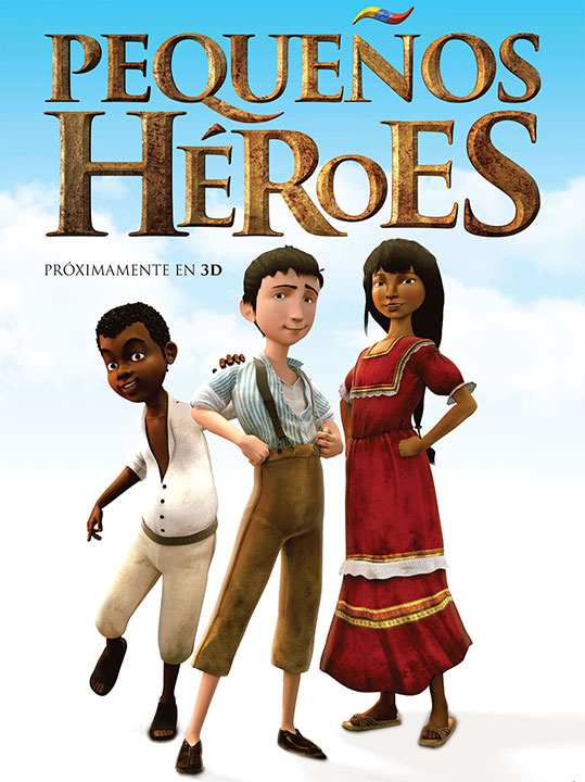 Little Heros Movie Characters Modeling